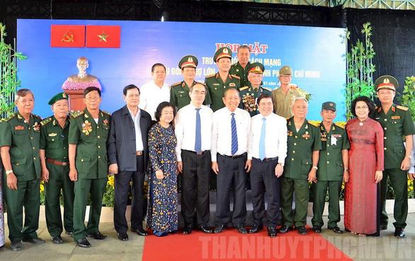 TP.HCM họp mặt truyền thống cách mạng Sài Gòn - Chợ Lớn - Gia Định - Ảnh 1.