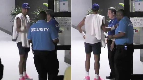 Nhân viên an ninh Giải Úc mở rộng 2020 làm khó Nadal vì không biết anh là ai - Ảnh 1.