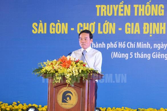 TP.HCM họp mặt truyền thống cách mạng Sài Gòn - Chợ Lớn - Gia Định - Ảnh 4.
