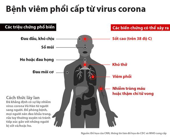 Dịch viêm phổi do virus corona: chỉ 24 tiếng, thêm 38 người chết - Ảnh 1.