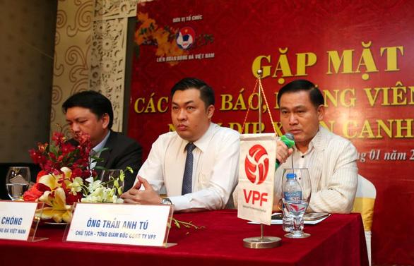 Ông Trần Anh Tú: VPF không được phép trả lời khi nào thì có VAR - Ảnh 1.