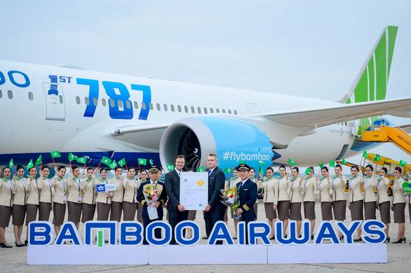 Bamboo Airways được trao chứng nhận quốc tế về an toàn khai thác - Ảnh 1.