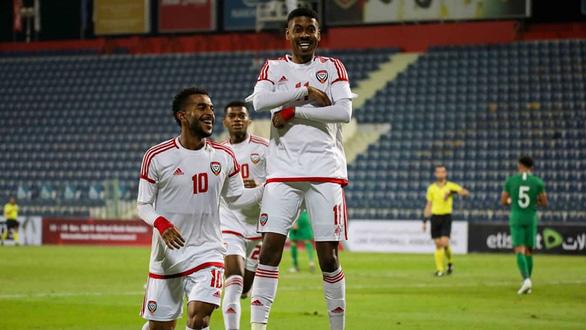 U23 UAE trong vỏ bọc đội cửa dưới - Ảnh 1.