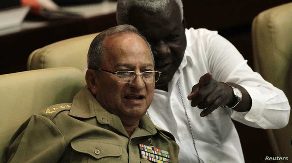 Mỹ trừng phạt Bộ trưởng Quốc phòng Cuba và hai con - Ảnh 1.