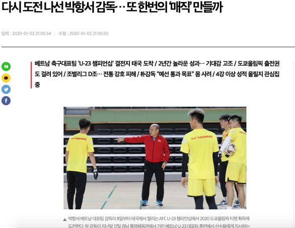 Trang Segye: Việc là á quân 2018 khiến HLV Park Hang Seo gặp nhiều khó khăn - Ảnh 2.