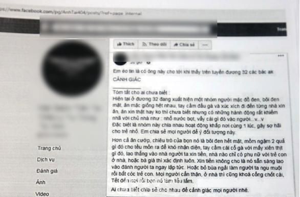 Triệu tập chủ tiệm tóc đăng tin nhóm người mặt đen để 'câu like' - Ảnh 1.