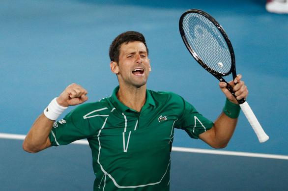 Thắng nhanh Federer, Djokovic vào chung kết Giải Úc mở rộng 2020 - Ảnh 1.