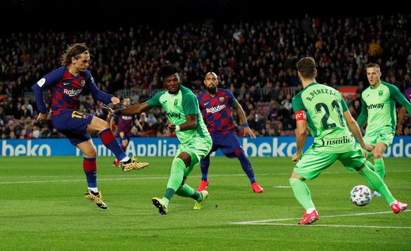 Messi lập cú đúp, Barcelona vùi dập Leganes ở Cúp Nhà Vua - Ảnh 2.