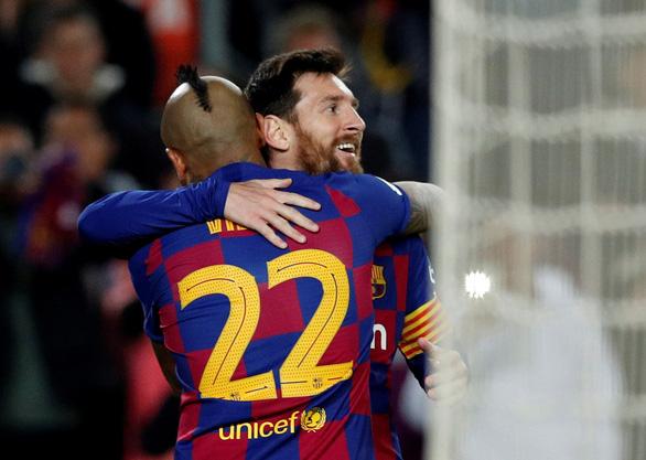 Messi lập cú đúp, Barcelona vùi dập Leganes ở Cúp Nhà Vua - Ảnh 1.