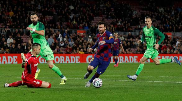 Messi lập cú đúp, Barcelona vùi dập Leganes ở Cúp Nhà Vua - Ảnh 3.