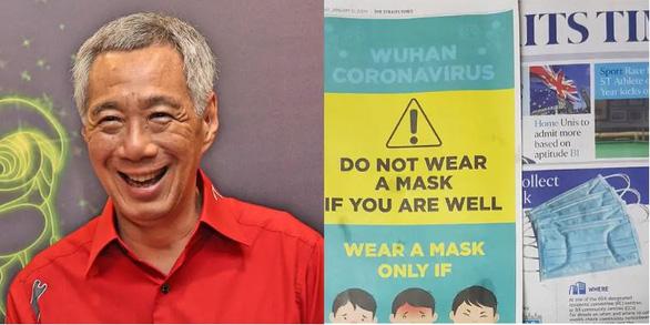 Đeo khẩu trang: Singapore bảo không cần khi khỏe, nước khác lại khuyến khích - Ảnh 1.
