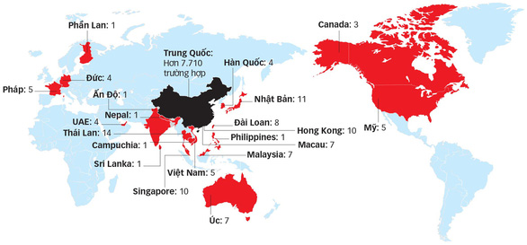 Các nước cách ly công dân từ Vũ Hán - Ảnh 1.
