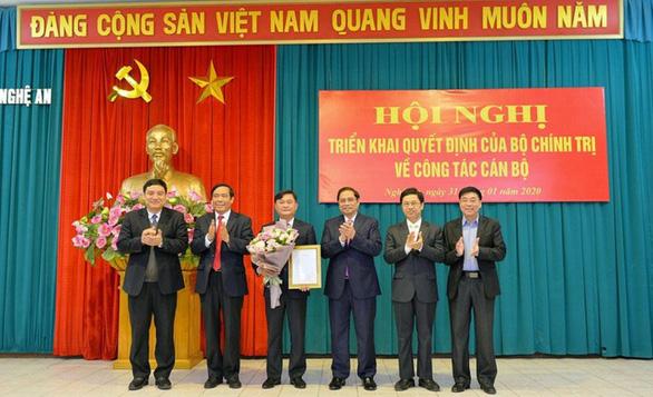 Nghệ An có tân bí thư Tỉnh ủy 44 tuổi - Ảnh 1.