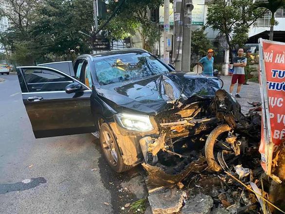 Tài xế xe hơi tông chết bác tài Grab 64 tuổi ra trình diện, dương tính ma túy - Ảnh 1.
