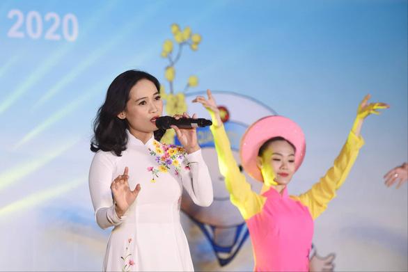 Mùa xuân biển đảo 2020: Những chiến sĩ tuổi đôi mươi khoe tài hát, nhảy - Ảnh 11.