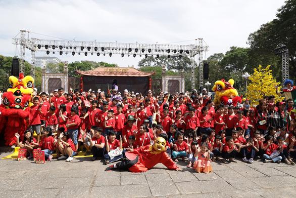 Hoạt động thiện nguyện 'Tết trẻ em' tại Lễ hội Tết Việt 2020 - Ảnh 1.