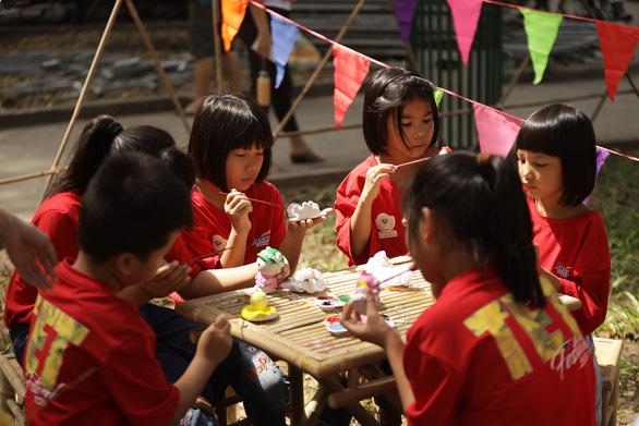 Hoạt động thiện nguyện 'Tết trẻ em' tại Lễ hội Tết Việt 2020 - Ảnh 4.