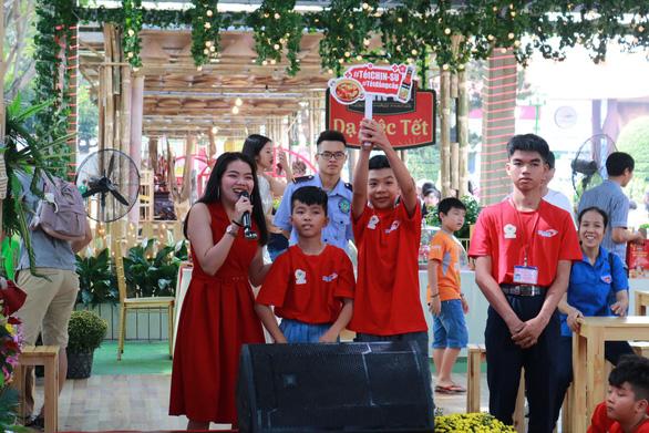 Hoạt động thiện nguyện 'Tết trẻ em' tại Lễ hội Tết Việt 2020 - Ảnh 3.