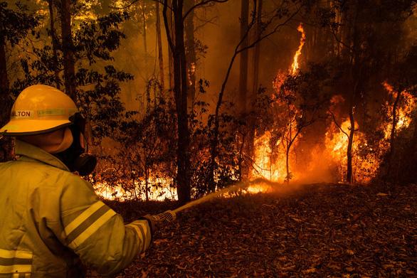 cháy rừng ở úc