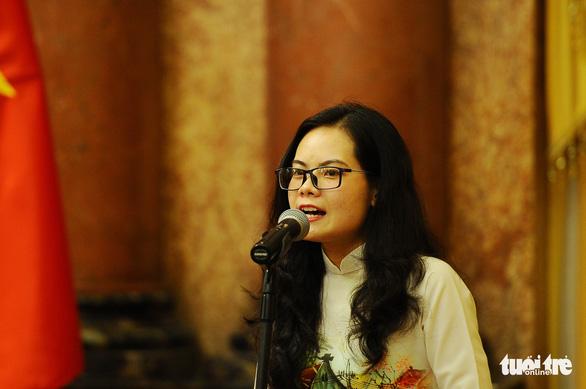 Phó chủ tịch nước Đặng Thị Ngọc Thịnh: Nghèo vì không có ước mơ, không dám ước mơ - Ảnh 3.