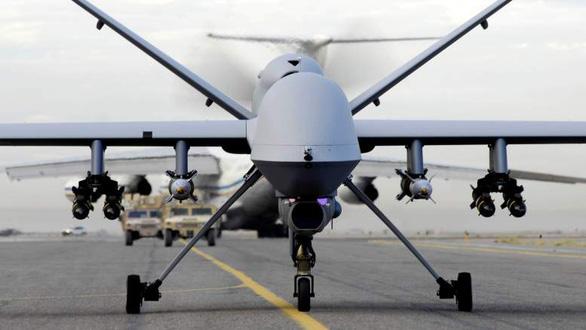 Mỹ huy động bao nhiêu máy bay không người lái giết tướng Iran? - Ảnh 1.
