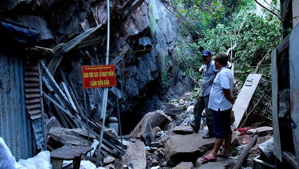 Vụ sạt lở đá ở Nha Trang: Chưa có quỹ đất tái định cư cho người dân - Ảnh 1.