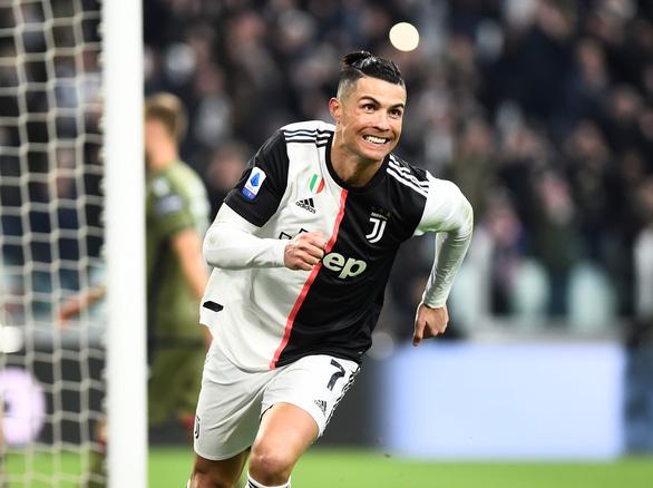 Ronaldo lập hat-trick, Juventus giữ vững đỉnh bảng - Ảnh 3.
