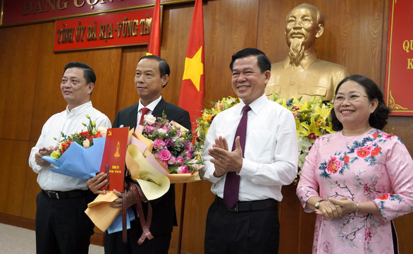 Ông Nguyễn Văn Thọ chính thức giữ chức chủ tịch UBND tỉnh Bà Rịa - Vũng Tàu - Ảnh 1.