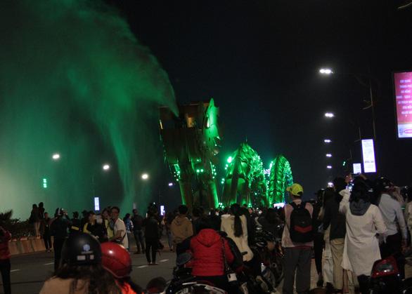 Cầu Rồng sẽ phun lửa 4 đêm liên tiếp dịp tết - Ảnh 1.