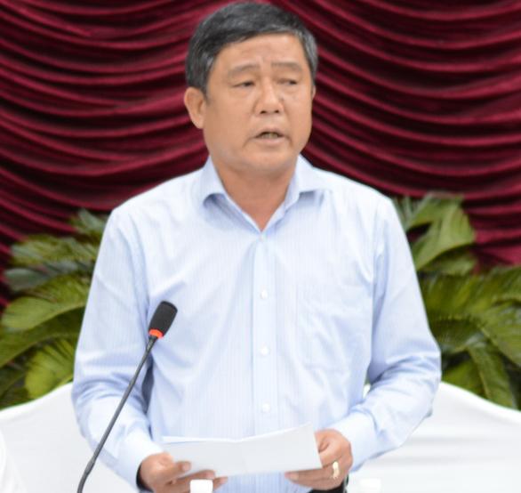 Cảnh cáo giám đốc Sở Tài nguyên - môi trường tỉnh Bình Thuận - Ảnh 1.