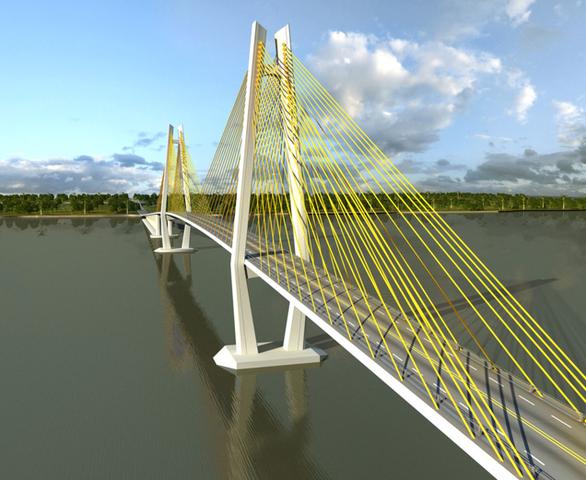 Kiến nghị Thủ tướng đầu tư dự án xây cầu Rạch Miễu 2 - Ảnh 1.