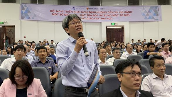Bộ trưởng Giáo dục: Cơ quan chủ quản không can thiệp sâu vào trường đại học - Ảnh 4.