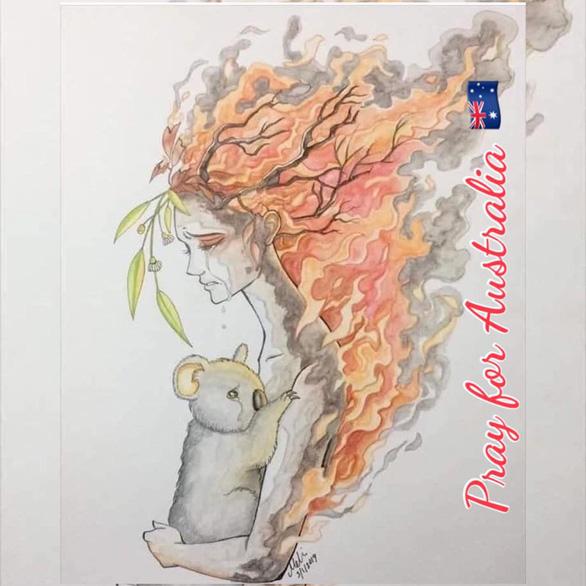 Thế giới cầu nguyện cho nước Úc vượt qua trận cháy rừng thảm khốc - Ảnh 2.