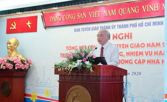 Ông Trần Lưu Quang: Cán bộ tuyên giáo phải tự trang bị sự nhạy cảm chính trị - Ảnh 2.
