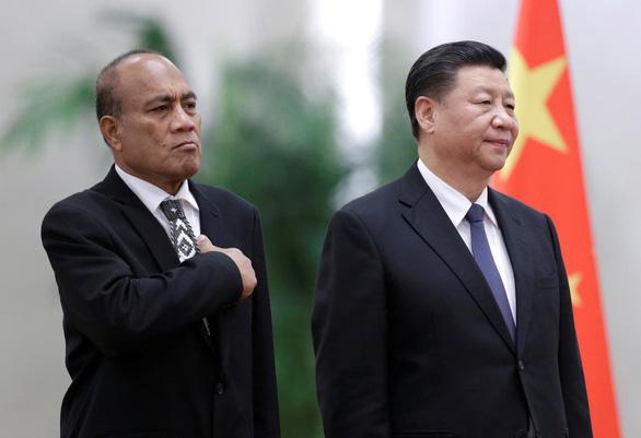 Ông Tập Cận Bình ca ngợi Kiribati khi cắt quan hệ với Đài Loan - Ảnh 1.