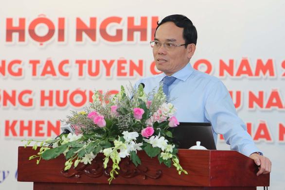Ông Trần Lưu Quang: Cán bộ tuyên giáo phải tự trang bị sự nhạy cảm chính trị - Ảnh 1.