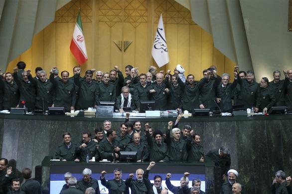 Iran thông qua dự luật xem quân đội Mỹ, Lầu Năm Góc là khủng bố - Ảnh 1.