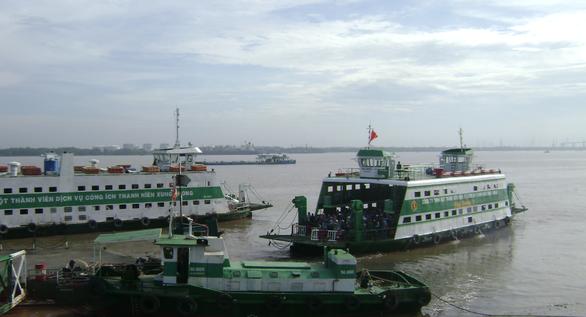 Phà Bình Khánh, Cát Lái tăng gấp đôi số chuyến dịp Tết Canh Tý - Ảnh 1.
