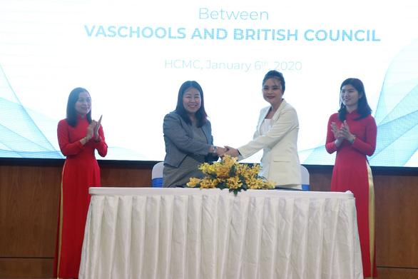 Trường Việt Mỹ - VAschools trở thành đối tác chiến lược của Hội Đồng Anh - Ảnh 1.