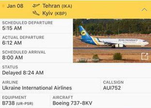 Máy bay Ukraine rơi ở Iran, 176 người thiệt mạng - Ảnh 4.