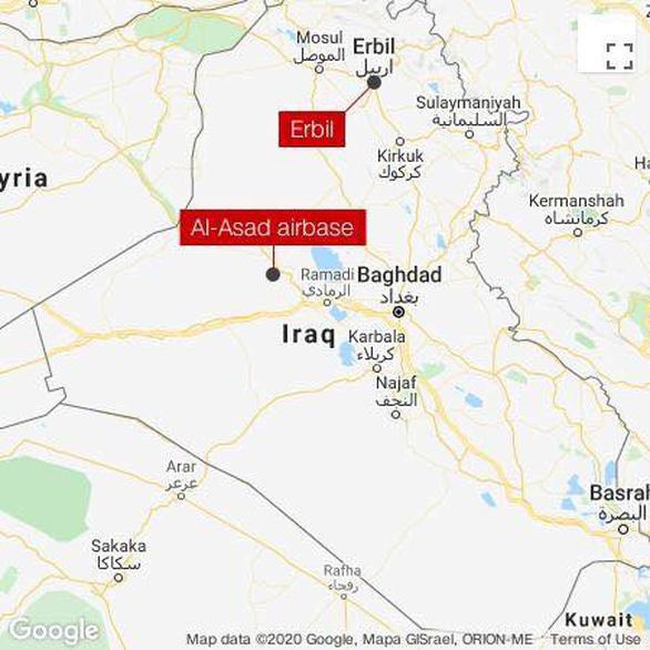 Iran nã hàng chục tên lửa vào căn cứ có lính Mỹ ở Iraq - Ảnh 6.