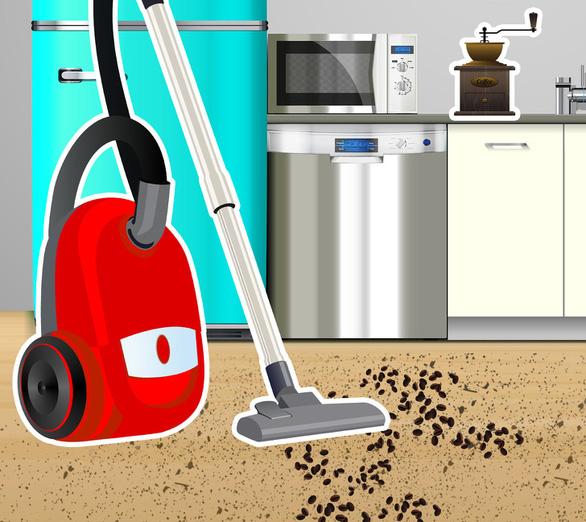 7 loại rác trong nhà không nên dùng máy hút bụi - Ảnh 1.