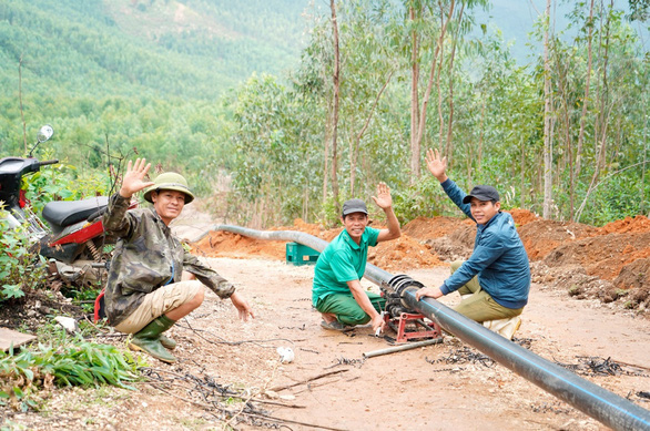Vùng quê Quảng Kim hạnh phúc khi có nước sạch - Ảnh 4.