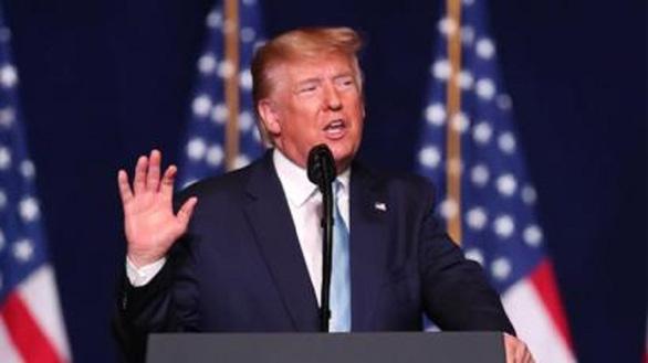 Ông Donald Trump đã được thông báo căn cứ Mỹ bị Iran tấn công - Ảnh 1.
