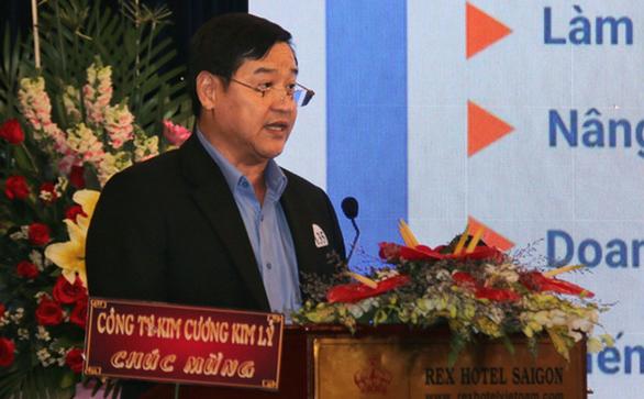 Ông Chu Tiến Dũng - chủ tịch Hiệp hội Doanh nghiệp TP.HCM - Ảnh: NGỌC HIỂN