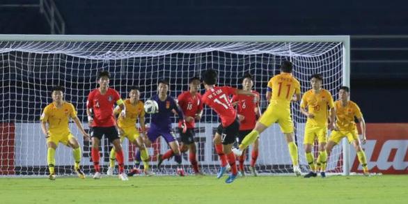 Lee Dong Jun ghi bàn phút 90+3 giúp U23 Hàn Quốc hạ gục Trung Quốc - Ảnh 2.