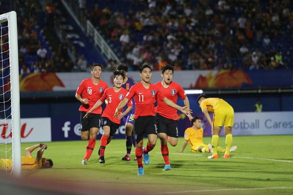 Lee Dong Jun ghi bàn phút 90+3 giúp U23 Hàn Quốc hạ gục Trung Quốc - Ảnh 1.