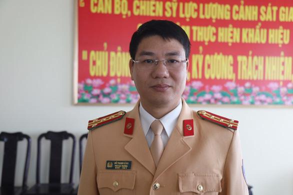Phó cục trưởng Cục CSGT: Xử lý nghiêm xe vi phạm để đảm bảo người dân về quê ăn tết an toàn - Ảnh 1.
