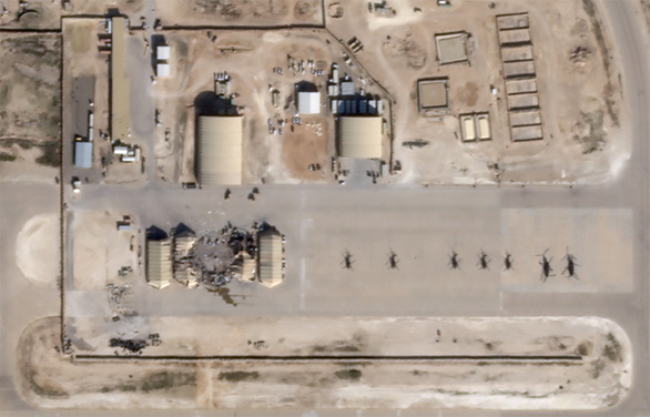 Mỹ: Iraq đã báo trước vụ bắn phá của Iran - Ảnh 1.