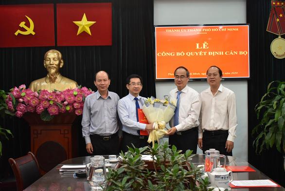 Ông Dương Ngọc Hải làm trưởng Ban Nội chính Thành ủy TP.HCM - Ảnh 1.